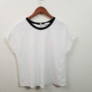 Calvin Klein Top White Size S